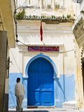 Street in the Kasbah  Tangier  Morocco  North Africa  Africa