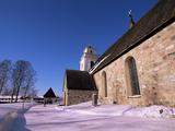 Gammelstad (Lulea Old City) UNESCO World Heritage Site  Lapland  Sweden  Scandinavia  Europe