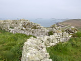Stone Walls  Samson  Isles of Scilly  United Kingdom  Europe