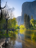 Cathedral Beach  Yosemite National Park  California  USA