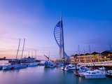 Spinnaker Tower  Gunwharf Marina  Portsmouth  Hampshire  England  United Kingdom  Europe