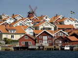 Houses Mollosund  Mollosund  West Gotaland  Sweden  Scandinavia  Europe