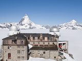 Observatory at Summit of Gronergrat  Gornergrat Peak  Switzerland  Europe