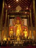 Wat Chedi Luang  Chiang Mai  Chiang Mai Province  Thailand  Southeast Asia  Asia