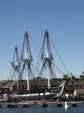 Uss Constitution (Old Ironsides)  Charlestown Navy Yard  Boston  Massachusetts  New England  USA
