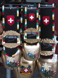 Cowbell Souvenirs in Zermatt  Switzerland  Europe