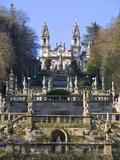 Santuario Nossa Senhora Dos Remedios  UNESCO World Heritage Site  Lamego  Portugal   Europe