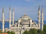 The Blue Mosque (Sultan Ahmet Camii)  Sultanahmet  Central Istanbul  Turkey