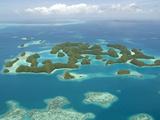 Seventy Islands (Ngerukewid Islands Wildlife Preserve)  Forest-Covered Limestone Rock  Palau