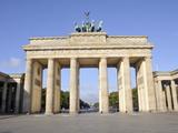 Brandenburg Gate  Berlin  Germany  Europe