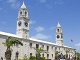 Clock Tower (Mall) at the Royal Naval Dockyard  Bermuda  Central America