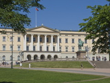 The Royal Palace  Oslo  Norway  Scandinavia  Europe