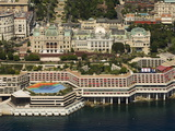 View From Helicopter of the Casino  Monte Carlo  Monaco  Cote D&#39;Azur  Europe