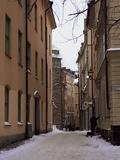 Gamla Stan District  Stockholm  Sweden  Scandinavia  Europe