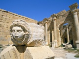 Gorgon Head  Severan Forum  Leptis Magna  UNESCO World Heritage Site  Tripolitania  Libya
