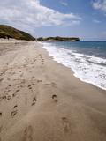 Patara Beach  Near Kalkan  Anatolia  Turkey  Asia Minor  Eurasia