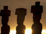 Anakena  Rapa Nui (Easter Island)  UNESCO World Heritage Site  Chile  South America