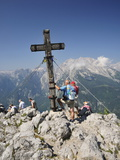 Summit Cross  Jenner  Berchtesgadener Land  Bavaria  Germany  Europe