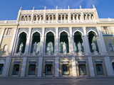 Nizami Museum of Azerbaijan Literature  Baku  Azerbaijan  Central Asia  Asia