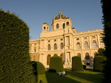Museum of Fine Arts at Maria Teresa Platz  Vienna  Austria  Europe