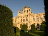 Museum of Fine Arts at Maria Teresa Platz  Vienna  Austria  Europe