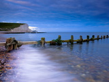 Seven Sisters Cliffs From Cuckmere Haven Beach  South Downs  East Sussex  England  United Kingdom