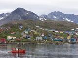 Fishing Boat  Ammassalik  Greenland  Arctic  Polar Regions