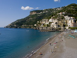 Amalfi Coast  UNESCO World Heritage Site  Campania  Italy  Europe
