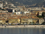 View From Helicopter of Nice  Alpes-Maritimes  Provence  Cote D'Azur  French Riviera