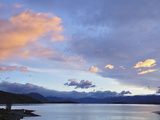 Sunrise  Lake Tekapo  Canterbury  South Island  New Zealand  Pacific