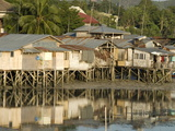 Stilt Houses By Old Port  Tagbilaran  Capital of Bohol  Philippines  Southeast Asia  Asia