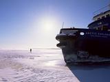 Icebreaker Arctic Explorer  Gulf of Bothnia  Lapland  Sweden  Scandinavia  Europe