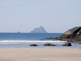 Ring of Kerry With the Skellig Rock in Distance  County Kerry  Munster  Republic of Ireland  Europe