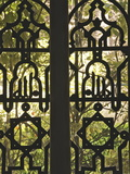 Wrought Iron Opening on to the Gardens of Reales Alcazares (Alcazar Palace Gardens)  Seville