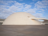 Cultural Complex of the Republic  National Museum  Brasilia  Distrito Federal-Brasilia  Brazil