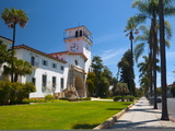 County Courthouse  Santa Barbara  California  USA