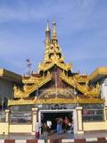Sule Pagoda  Yangon (Rangoon)  Myanmar (Burma)  Asia