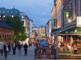 Karl Johans Gate  Pedestrianised Street in the City Center  Oslo  Norway  Scandinavia  Europe