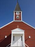 Church  Nuuk  Greenland  Arctic  Polar Regions