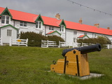 Cannon on Victory Green in Port Stanley  Falkland Islands (Islas Malvinas)  South America