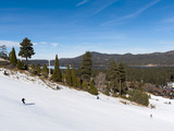 Ski Resort  Big Bear Lake  California  United States of America  North America