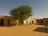 Sandy Square at UNESCO World Heritage Site of Chinguetti  Medieval Trading Centre  N Mauritania