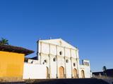 Facade of Convent and Museum San Francisco  Granada  Nicaragua  Central America