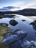 Loch Tollaidh at Dawn  Near Poolewe  Achnasheen  Wester Ross  Highlands  Scotland  United Kingdom
