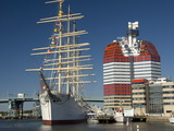 Barque the Viking and Gotheborgsutkiken  Gothenburg  Sweden  Scandinavia  Europe