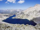 Lake Creguena  Pyrenees  Spain  Europe