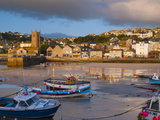 St Ives Harbour  Cornwall  England  United Kingdom  Europe