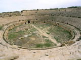 Amphitheatre  Leptis Magna  UNESCO World Heritage Site  Tripolitania  Libya  North Africa  Africa