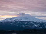 Dawn at Mount Shasta  California  USA