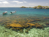 Clear Waters Between Limestone Islands  Hundred Islands  Lingayen Gulf  Philippines